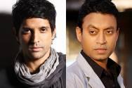 Farhan Akhtar and Irrfan Khan