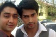 Dheeraj Miglani with Farhan Khan