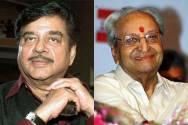 Shatrughan Sinha and Pran