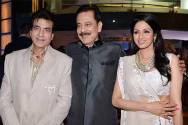 Jeetendra, Sahara Sri Subroto Roy and Sridevi