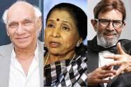 Yash Chopra, Asha Bhosle and Rajesh Khanna
