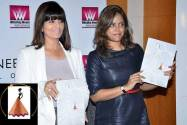 Ms. Neeta Lulla and Ms. Meghna Ghai-Puri at the formal launch of the Whistling W
