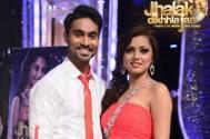 Drashti Dhami and her choreographer Salman Yusuff Khan