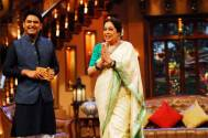 Kapil Sharma and Kirron Kher