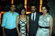 Neil Bhoopalam, Mandira Bedi, Anil Kapoor and Tisca Chopra at the trailer launch of 24