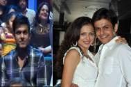(Left)- Neeraj during Jhalak finale; (right) Drashti and Neeraj's past pic