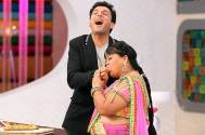 Bharti with Chef Vikas Khanna Judge of Junior MasterChef Swaad Ke Ustaad