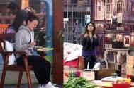 Elli Avaram and Tanisha in Bigg Boss saath 7