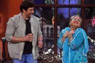 Sunny Deol with Daadi on Comedy Nights With Kapil