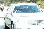 Tanisha and Armaan spotted while returning from Lonavla