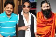 Udit Narayan  & Mika, Baba Ramdev