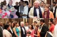 Canadian Governor visits the sets of Shashi-Sumeet Productions' Tumhari Paakhi