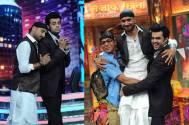 Harbhajan Singh, Manish Paul, Sunil Grover