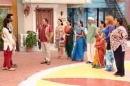 Youngistaan actors visit Taarak Mehta