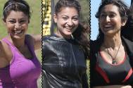 Debina Bonnerjee, Gauahar Khan and Teejay Sidhu