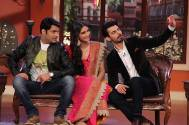 Sonam Kapoor and Fawad Khan on the sets of Comedy Nights With Kapil