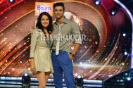 Pooja Banerjee with her choreographer