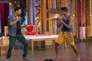 Akshay Nalawade and Akshay Kumar