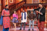 Entertainment cast on Comedy Nights With Kapil
