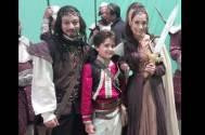Krishna Singh Bisht, Yash Mistry and Sara Khan