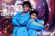 Akshat Singh with his Jhalak Choreographer Vaishnavi