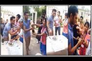 Bhanu Uday enjoyed birthday on the sets of Hamari Sister Didi