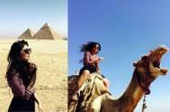 Kritika Kamra celebrates birthday in Egypt