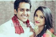 Rucha Hasabnis with her fiance Rahul