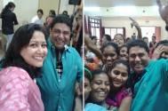 Ashiesh Roy and Jhumma Mitra celebrate Children