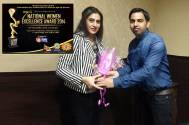 Actress Seema Pandey felicitated at the 7th National Women Excellence Award