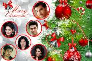 TV celebs wish fans Merry Christmas