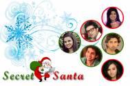 When TV celebs became Secret Santa