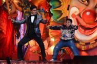 Shah Rukh Khan and Akshat Singh