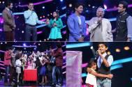 Family special on the sets of Sa Re Ga Ma Pa Li