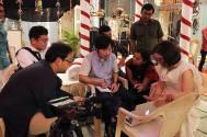 Japanese delegates visit the set of Tu Mera Hero