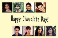 TV celebs simply LOVE chocolates