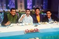 Gautam Rode on the sets of MasterChef India 4