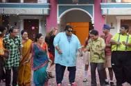 Ganesh Acharya promotes Hey Bro in Taarak Mehta