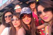 Dimple parties hard in Goa on her birthday