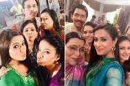 Selfie fever on the sets of Tumhi Ho Bandhu...