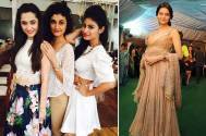 Sanjeeda, Mouni, Ragini attend Aamna Sharif