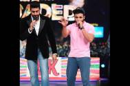 Abhishek Bachchan rapped with Raftaar on Jhalak Reloaded stage