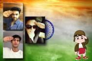 #IndependenceDay Special: #SaluteSelfie of TV Stars