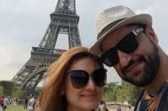 Parag and Shefali ROMANCING in Paris