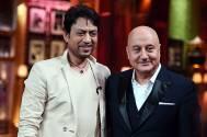 Irrfan Khan and Anupam Kher