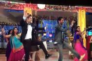 Ravi Dubey shakes a leg with his idol Prabhudheva