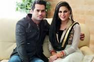 Veena Malik with husband Asad Bashir Khan