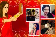 TV Celebs Celebrate Karwa Chauth
