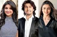 Parineeti Chopra, Alia Bhatt, Sonu Nigam