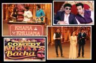Sanjeev Kapoor, Karisma Kapoor on Comedy Nights Bachao